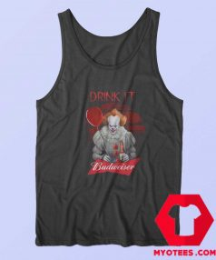 Pennywise Drink IT Budweiser Unisex Tank Top