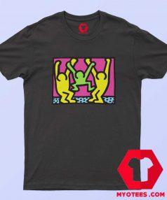 Pop Art American People Dancing T Shirt