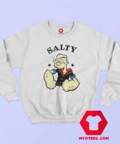 Popeye The Sailor Man Salty Vintage Sweatshirt