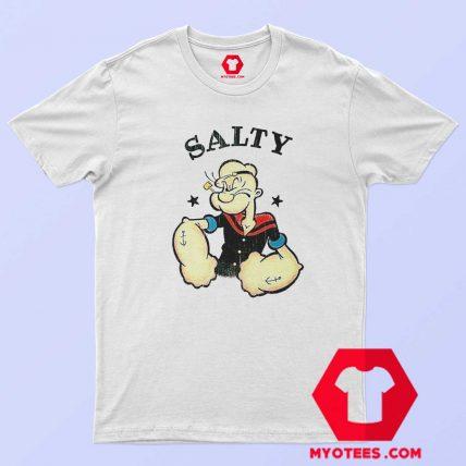 Popeye The Sailor Man Salty Vintage T Shirt