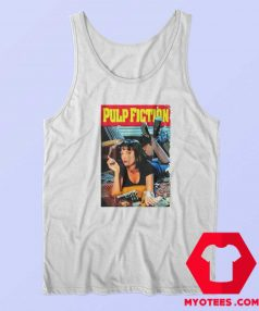 Pulp Fiction Movie Tarantino 90s Retro Tank Top