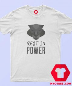 Rest In Power King of Wakanda Graphic T Shirt