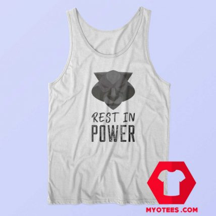 Rest In Power King of Wakanda Graphic Tank Top