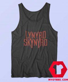 Rock Band Lynyrd Skynyrd Graphic Tank Top