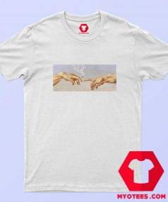 Sistine Chapel Smoking Vintage Unisex T Shirt