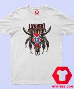 Skynyrd Bull American Flag Unisex T Shirt