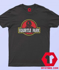 Squirtle Park Ninja Turtle Jurassic Park T Shirt