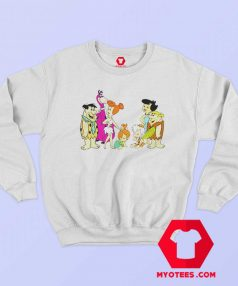 The Flintstones Fred Wilma Barney Betty Sweatshirt
