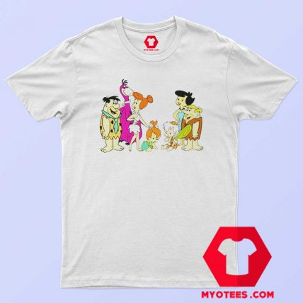 The Flintstones Fred Wilma Barney Betty T Shirt