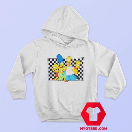 The Simpsons x Vans Checker Custom Hoodie