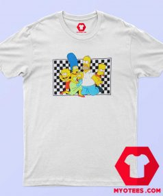 The Simpsons x Vans Checker Custom T Shirt