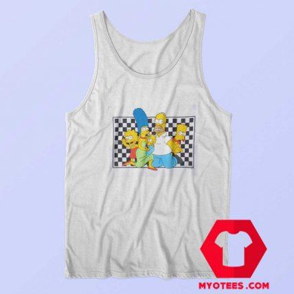 The Simpsons x Vans Checker Custom Tank Top