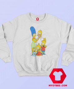 The Simpsons x Vans Family Custom Sweatshirt