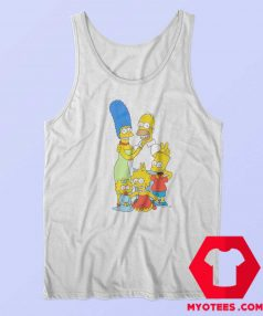 The Simpsons x Vans Family Custom Tank Top