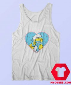 The Smurfs Girls Smurfette Unisex Tank Top