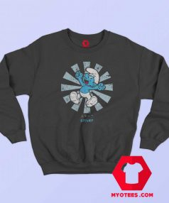 The Smurfs Retro Japanese Unisex Sweatshirt