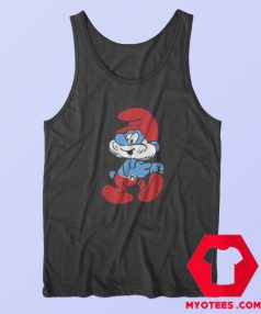 The Smurfs Retro Papa Smurf Unisex Tank Top