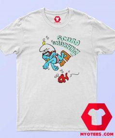 The Smurfs Scuba Smurfing Unisex T Shirt