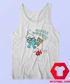 The Smurfs Scuba Smurfing Unisex Tank Top