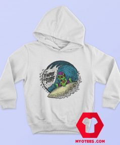 The Tample of Surf Retro Graphic Hoodie