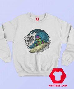 The Tample of Surf Retro Graphic Sweatshirt