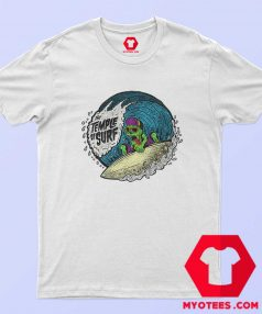 The Tample of Surf Retro Graphic T Shirt