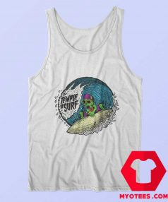 The Tample of Surf Retro Graphic Tank Top