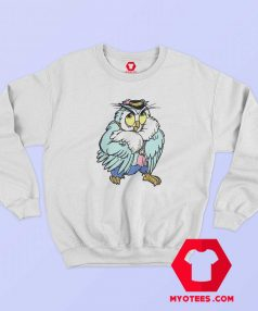 Vintage 90s Cartoon Owl Single Stitched Sweatshirt
