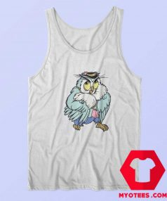 Vintage 90s Cartoon Owl Single Stitched Tank Top