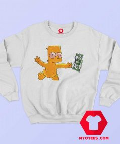 Vintage Aesthetic Funny Art Simpson Sweatshirt