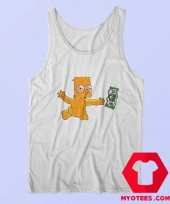 Vintage Aesthetic Funny Art Simpson Tank Top