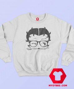 Vintage Betty Boop Dorky Dots Unisex Sweatshirt