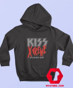 Vintage Kiss X Treme Close Up Hoodie