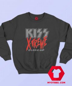 Vintage Kiss X Treme Close Up Sweatshirt