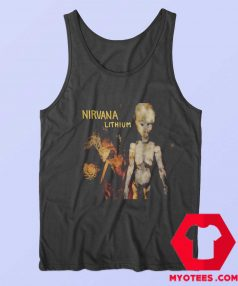 Vintage Lithium Song Nirvana Band Unisex Tank Top