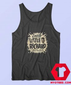 Vintage Lucille Little Richard Graphic Tank Top