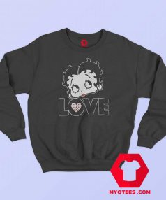 Vintage Retro Betty Boop Graphic Sweatshirt