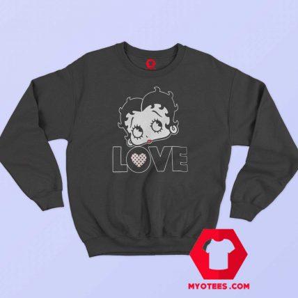Vintage Retro Betty Boop Graphic Sweatshirt