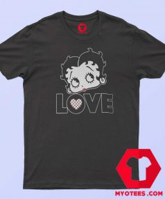 Vintage Retro Betty Boop Graphic T Shirt