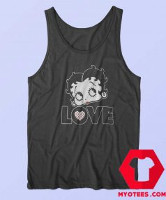 Vintage Retro Betty Boop Graphic Tank Top