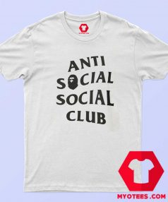 Anti Social Social Club X Bape Collab Graphic T Shirt