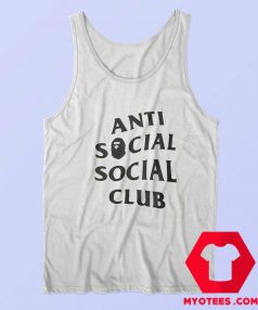 Anti Social Social Club X Bape Collab Graphic Tank Top