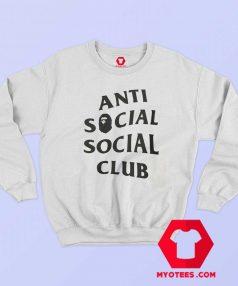 Anti Social Social Club X Bape Collab Sweatshirt