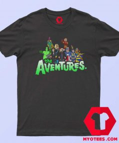 Aventures Superhero Bros Cartoon Parody T Shirt