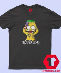 Bart Simpson Joker Batman Parody Unisex T Shirt