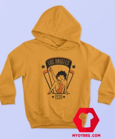 Betty Boop Cartoon Los Angeles 1930 Hoodie