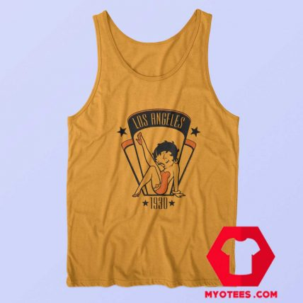 Betty Boop Cartoon Los Angeles 1930 Tank Top