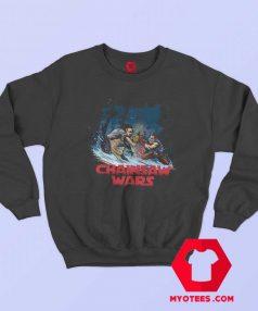 Chainsaw Star Wars Horror Halloween Sweatshirt