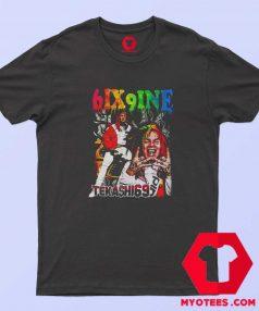 Cool Vintage Tekashi 6ix9ine Graphic T Shirt