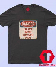 Crazy Demi Lovato Fan Music Artist Vintage T Shirt